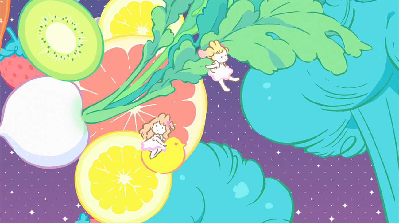 アイカツスターズ!  エンディングアニメーション  森のひかりのピルエット