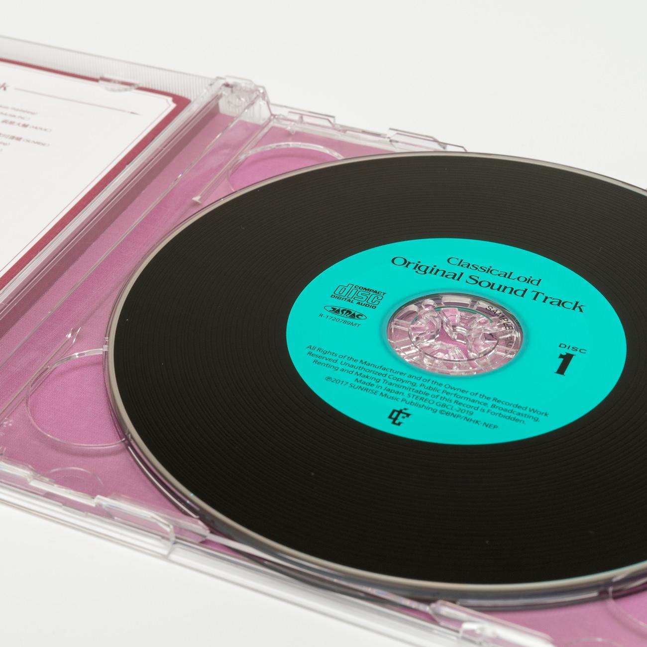 『クラシカロイド』Original Sound Track