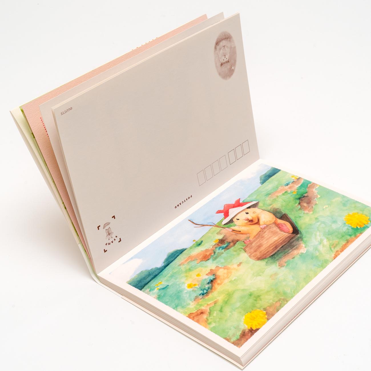 助六の日常 ポストカードブック GOTTE